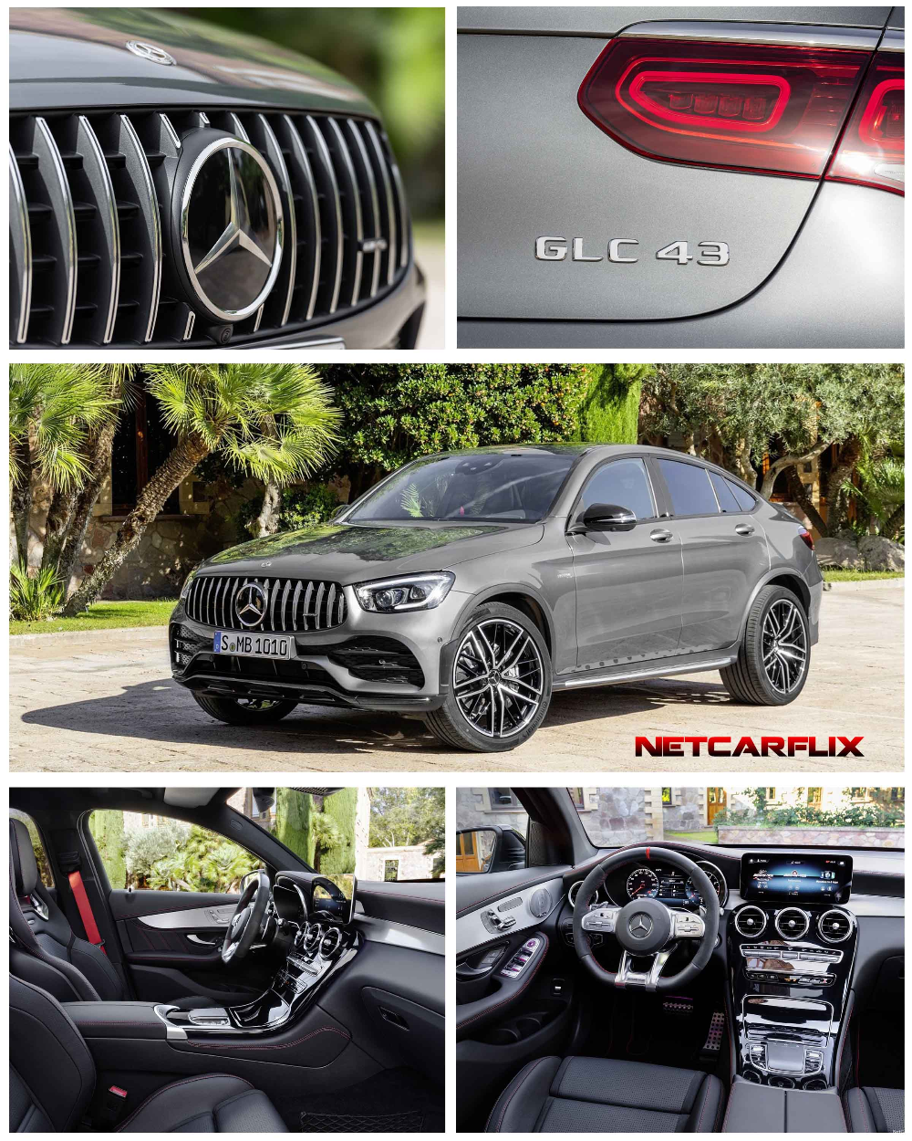 2020 Mercedes-Benz GLC43 AMG 4Matic Coupe