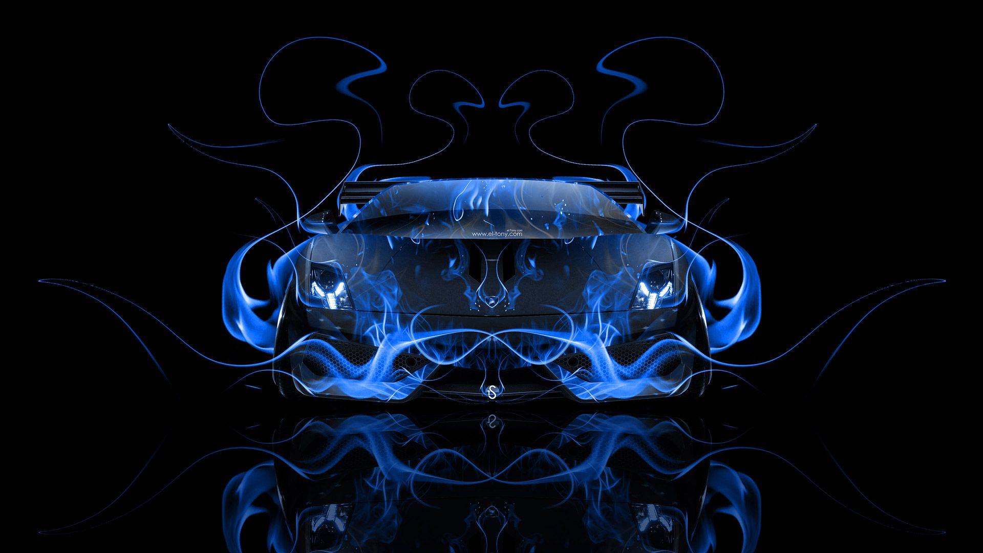 Nice Lamborghini Gallardo Back Abstract Car Design By Tony Kokhan Wallpapers) U2013  HD Desktop Wallpapers