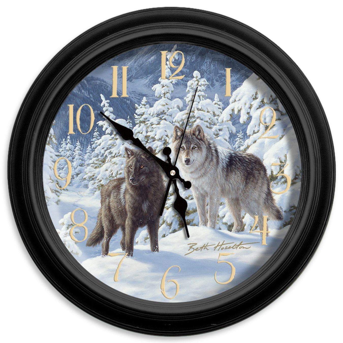 Classic wildlife 16 mount majesty wall clock products classic wildlife 16 mount majesty wall clock amipublicfo Image collections