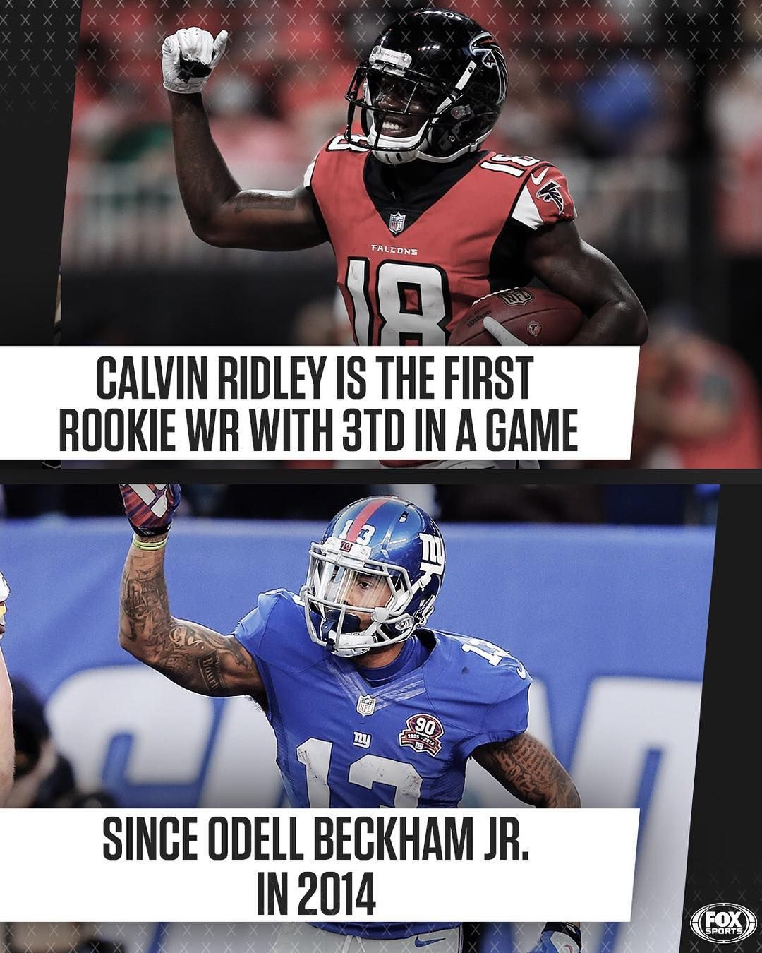 Nfl On Fox On Instagram Have A Day Calvin Ridley Beckham Jr Fox Sports Nfl