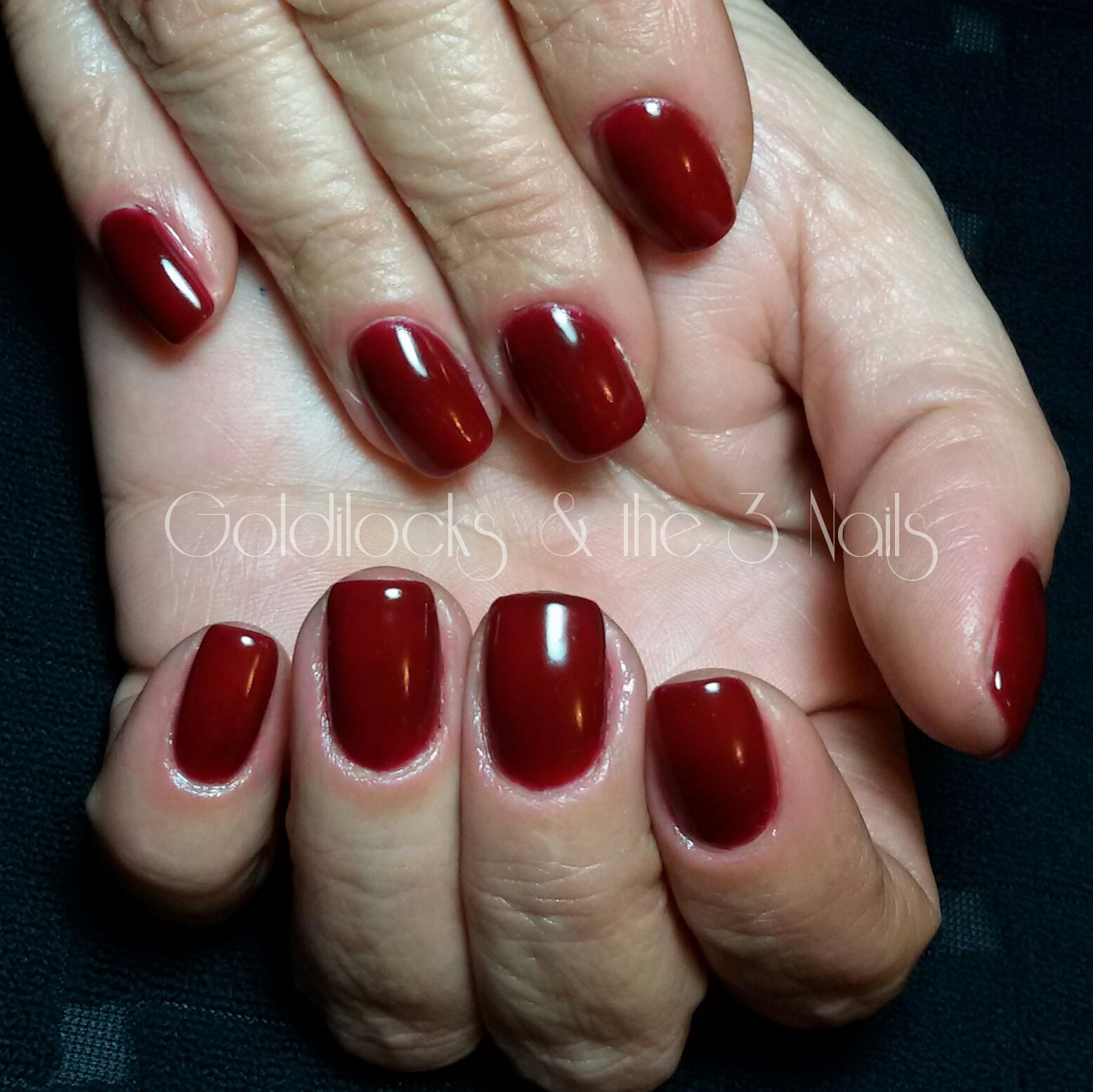 Orly GelFX | Ruby | Gel Polish | Dark Red Nails | Burgundy Nails ...