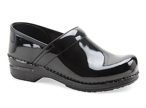Excellent Shoes Women's Shoes Comfort Shoes Buy Cheap Dansko 40 Black Patent Leather Professional Clogs
