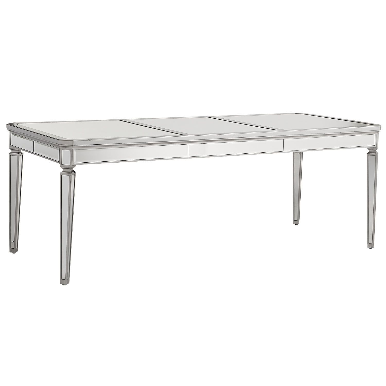 Merriweather Mirrored Dining Table Silver Pier Imports - Silver mirrored dining table