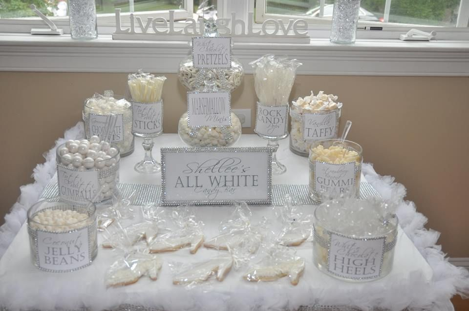 Pin By Chantae Williams On Foodie White Party Decorations White