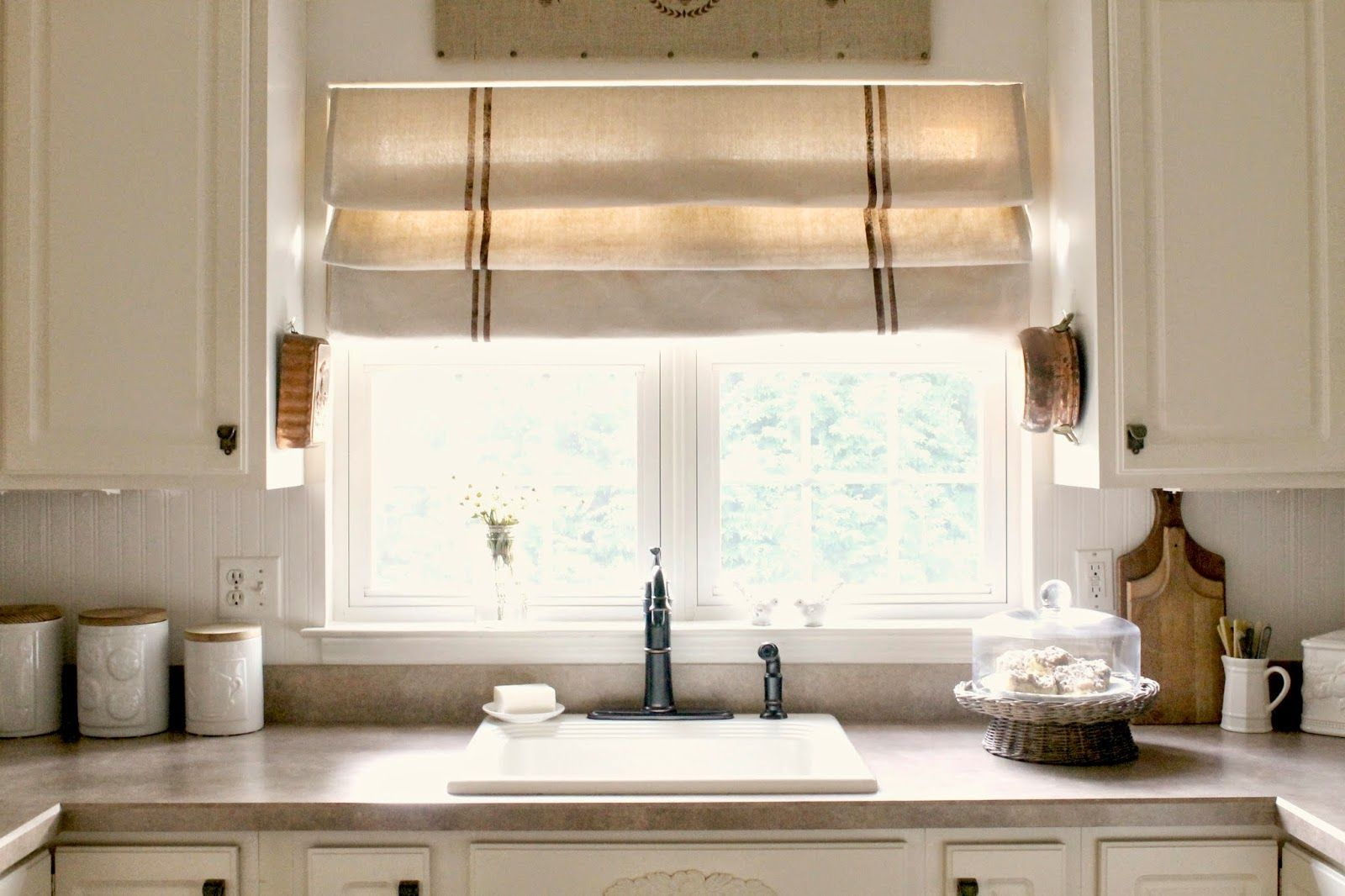 Diy Drop Cloth Roman Shade (Kateu0027s Place)