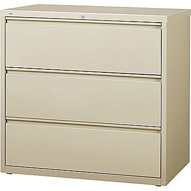 steelcase lateral file cabinet used gray drawer