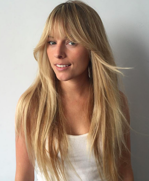 Cool Bangs For Long Hair: Pin On California Girl
