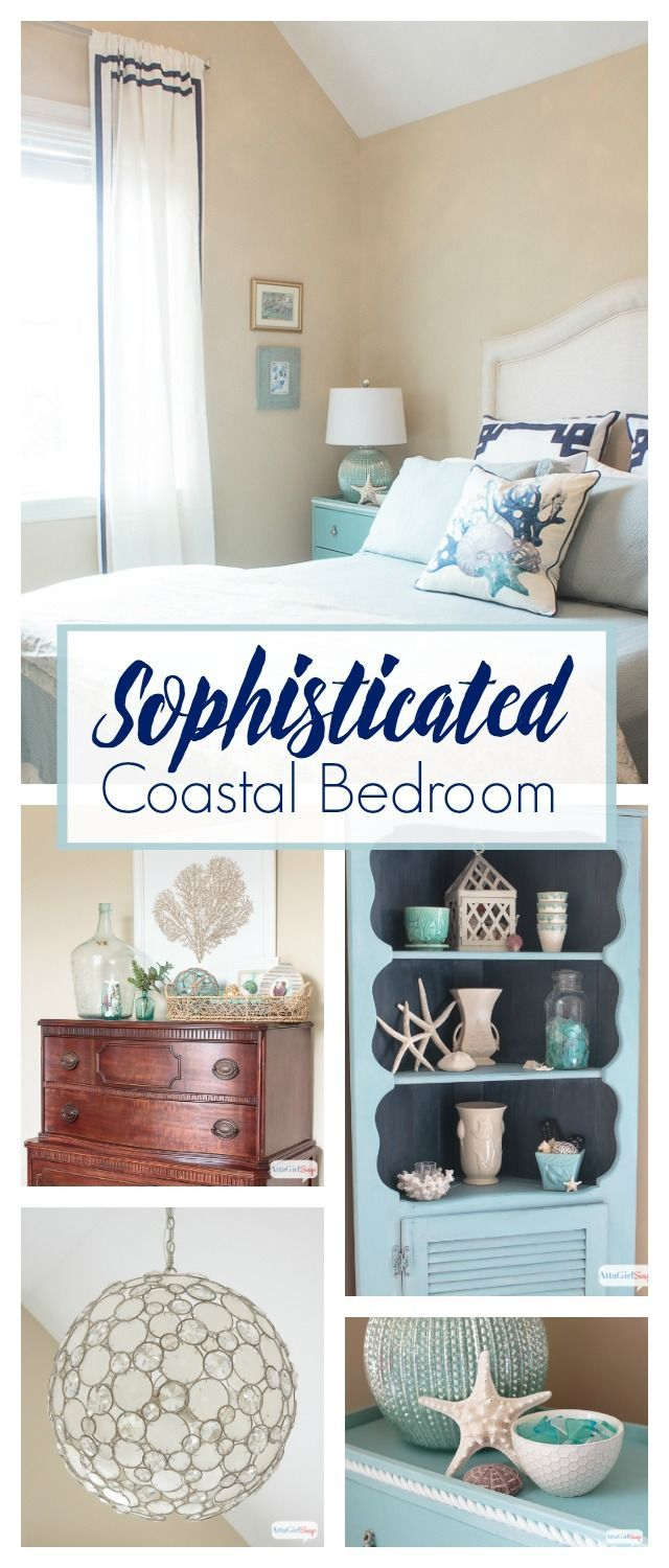 I Love All The Sophisticated Coastal Decor In This Guest Bedroom It Reminds Me Of A Boutique Hotel Or An Upscale Beach House