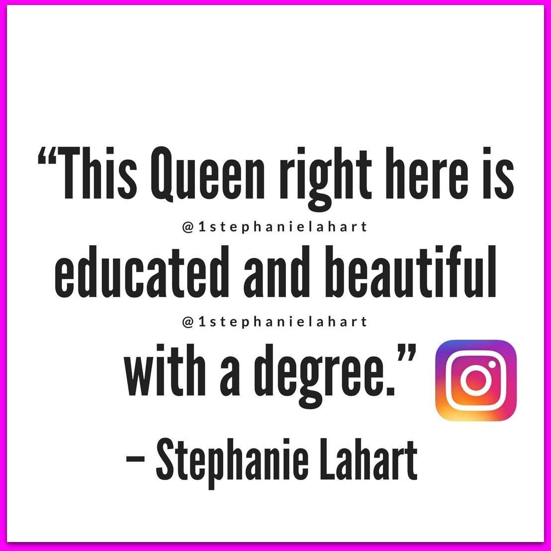 Black Womens Educated And Beautiful With A Degree Slogan Quotes T