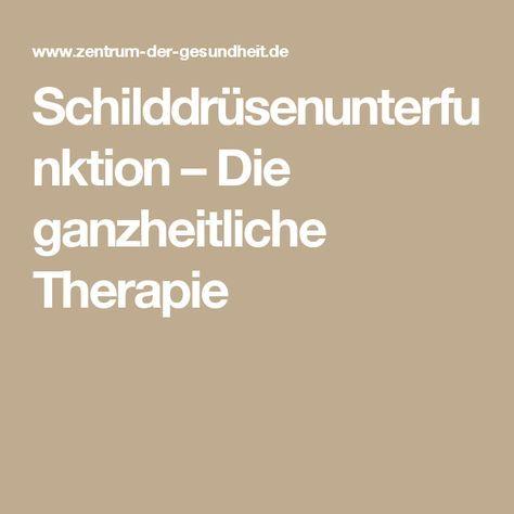 Schilddrusenunterfunktion Therapie Ganzheitlich Hashimoto