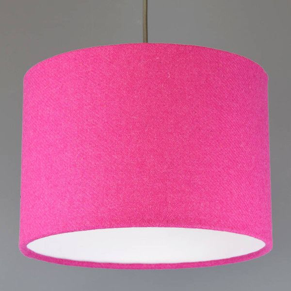 Quirk bright hot pink harris tweed lampshade 75 liked on quirk bright hot pink harris tweed lampshade 75 liked on polyvore featuring home aloadofball Gallery
