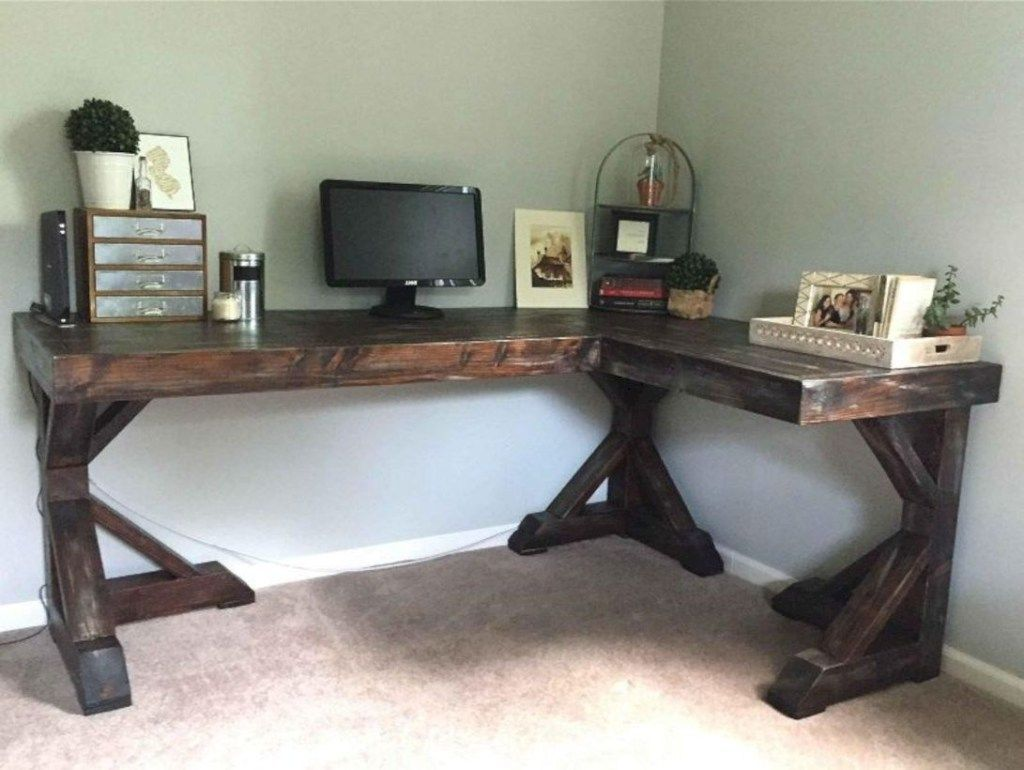 45 amazing farmhouse desk for the home office crompton