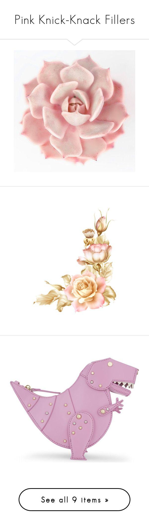Garden wall art flowers  Pink KnickKnack Fillers