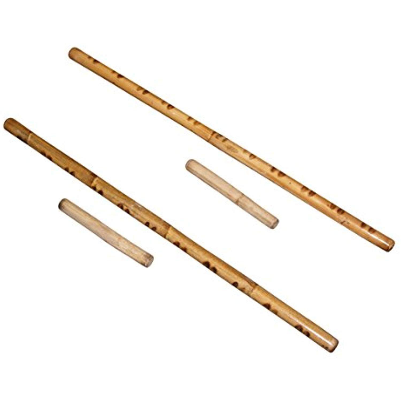 Deluxe filipino syatong chato game 2 rattan stick sets