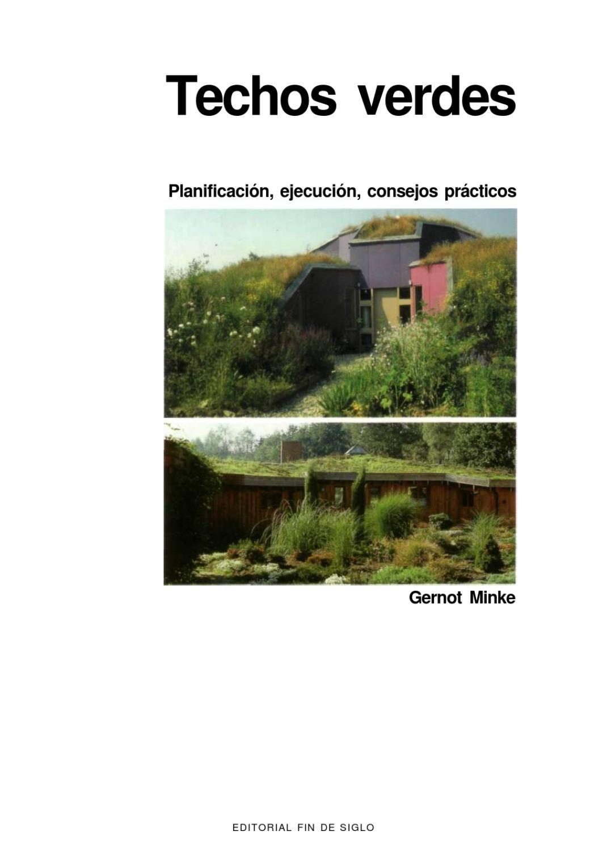 techos verdes gernot minke