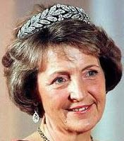 Tiara Mania: Laurel Wreath Tiara worn by Princess Margriet of the Netherlands
