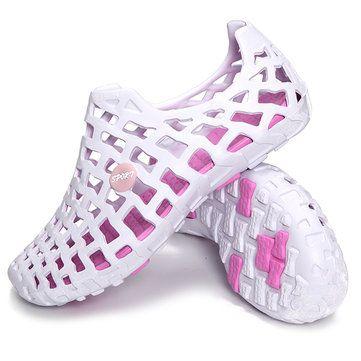 Grande Taille Évider Plage Respirant Chaussures De Sport EEzfgm