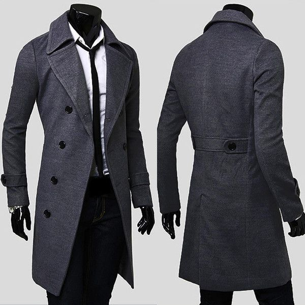 Men's Trench Coat | Double breasted coat, Trench and Trench coats