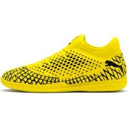 Photo of Puma men's soccer shoes Halle Future 4.4 It, size 39 in yellow PumaPuma