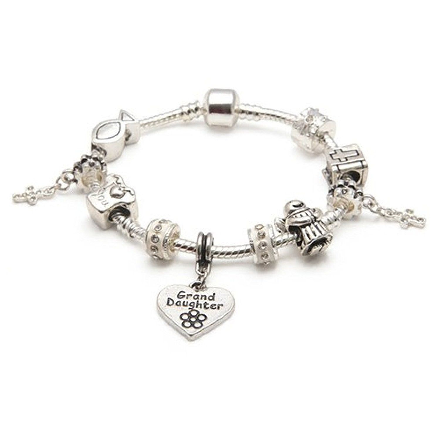 Liberty charms girls teen first holy communion christening silver
