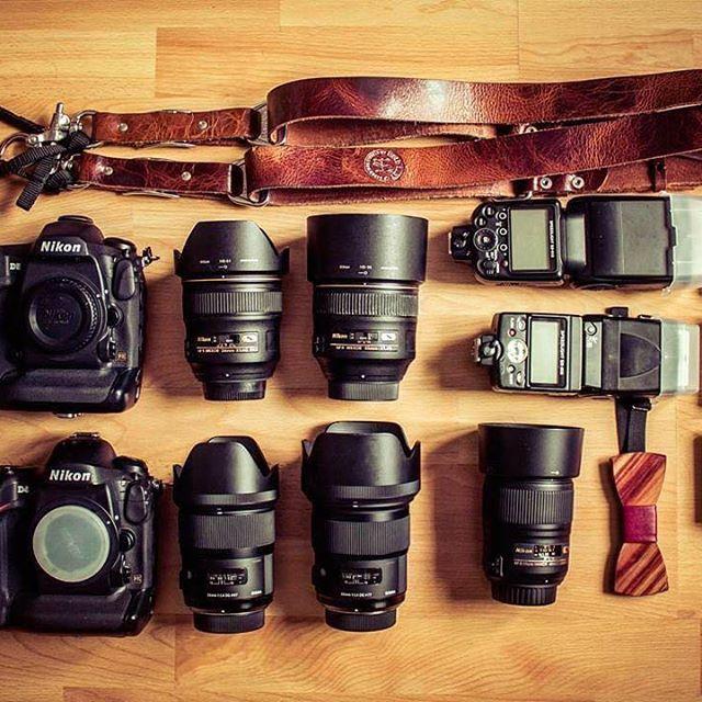 Lovely Nikon Camera Gear By Wedding Photographer Hdshing Tag A Weddingshoot Nikonlove Sigma Lens Cameras