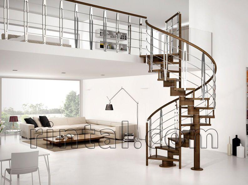 Escalier en colima on marche en bois ouvert ma onn - Escalier ouvert salon ...