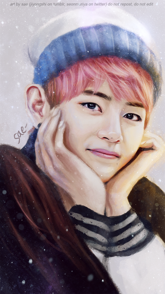 New Taehyung painting ! I hope you like it ♥ > patreon | twitter | facebook | deviantart