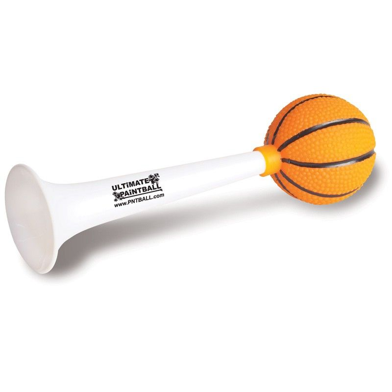 Custom Basketball Horn. NM402/JL. As low as $1.33 each. #sports #noisemaker #horn #basketball #marchmadness #partyfavors