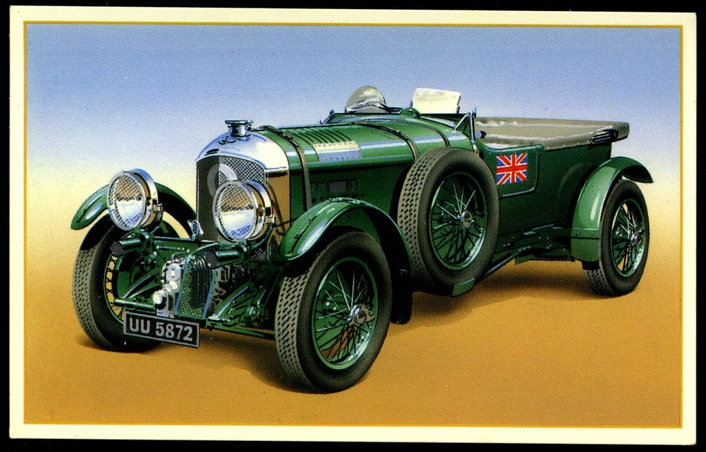 Tradecard - 1929 Bentley 4.5 litre supercharged | Bentley car ...