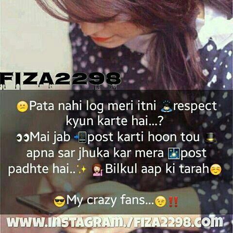 Hahahahahhaa True shayari Pinterest Attitude