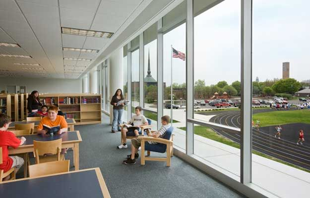 Interior Design Space Planning central middle school | cso architects, architecture, interior