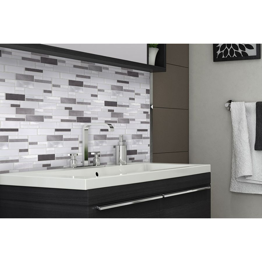Shop Elida Ceramica Avalanche Mixed Material (Glass and Metal ...
