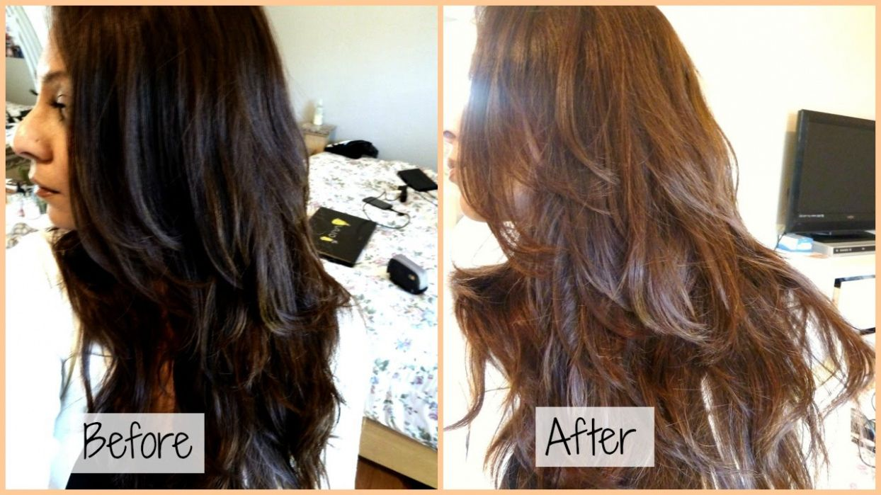 How to color hair from dark brown to light brown best