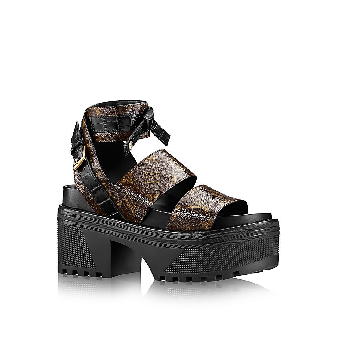 a587042cb639 Samourai Platform Sandal in Women s Shoes collections by Louis Vuitton