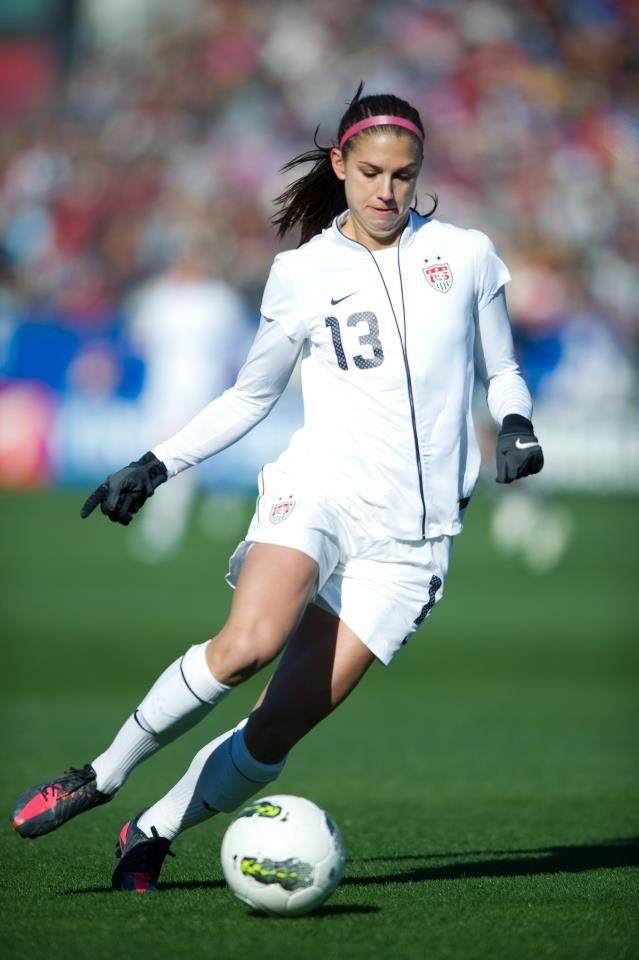 aaa4f8059 Alex Morgan. (U.S. Soccer Facebook)