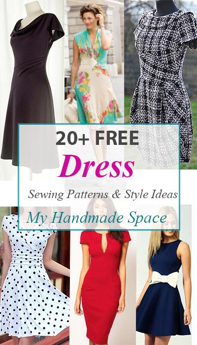 FREE Dress Patterns & Style Ideas | patron couture | Pinterest ...