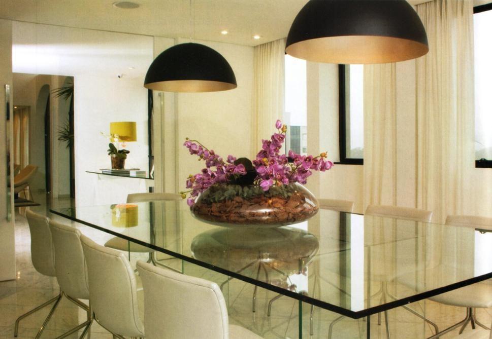 Como Evitar O Po Em Superficies De Vidro Sala De Jantar Mesa De