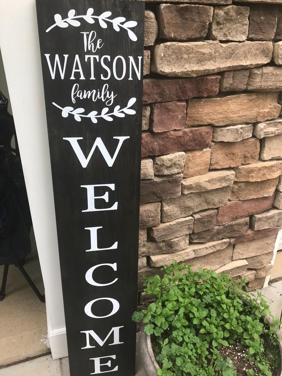 Porch Sign Welcome Sign Welcome Porch Signpersonalized Etsy Porch Signs Front Porch Signs Porch Welcome Sign
