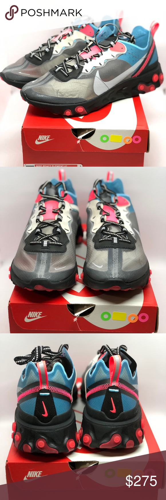 e1062f9439e7 Nike React Element 87 men s size 9.5us NEW w box Brand new in the