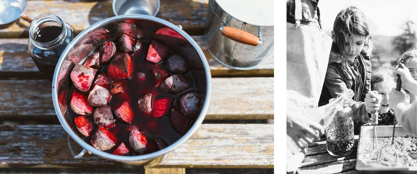 Boiled beets make a vibrant red and purple colour dye.  #easter #ecodairy #abbotsford @Vitala Foods