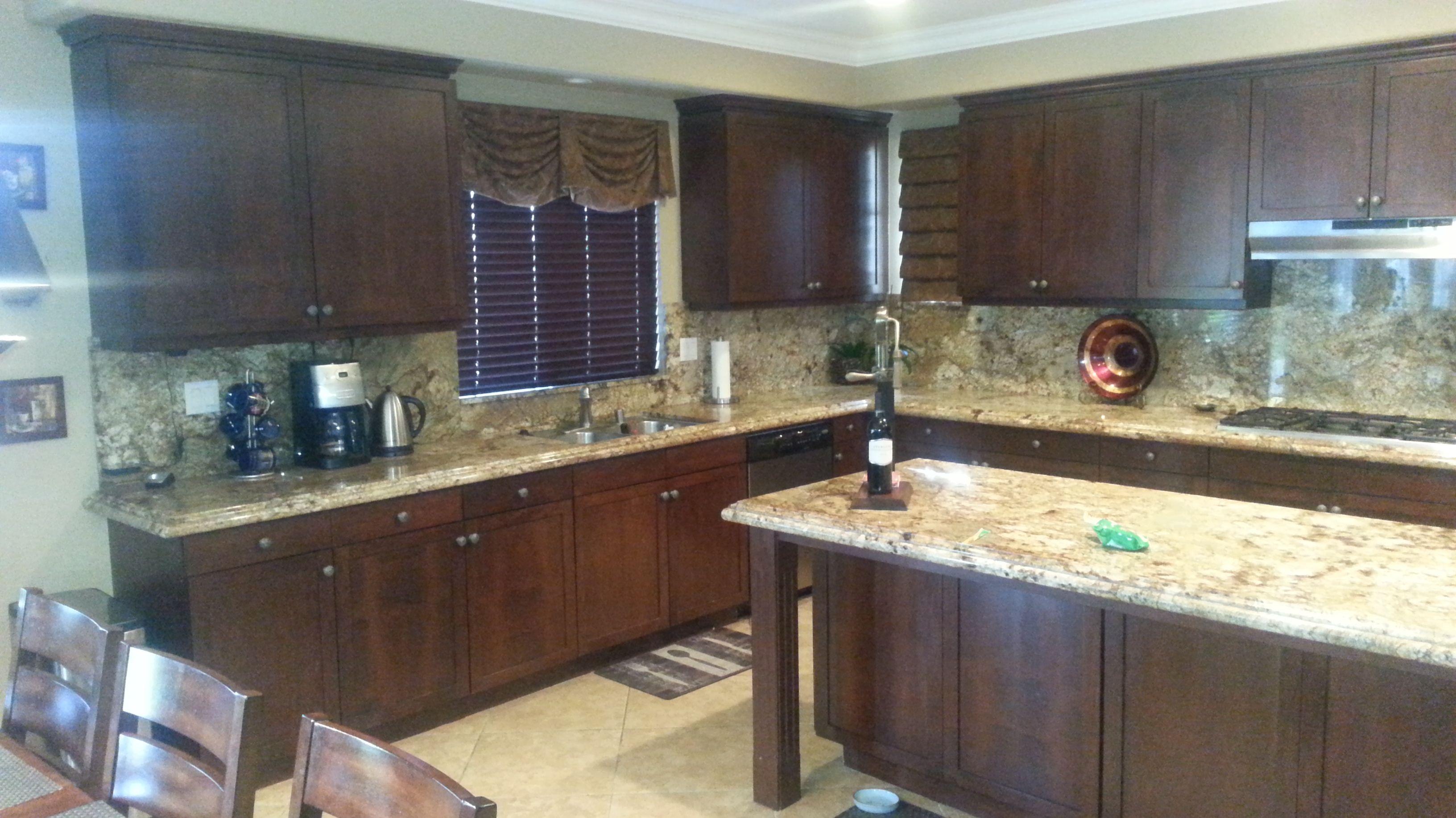 Diamond kitchen w quartz counter whirlpool appliances