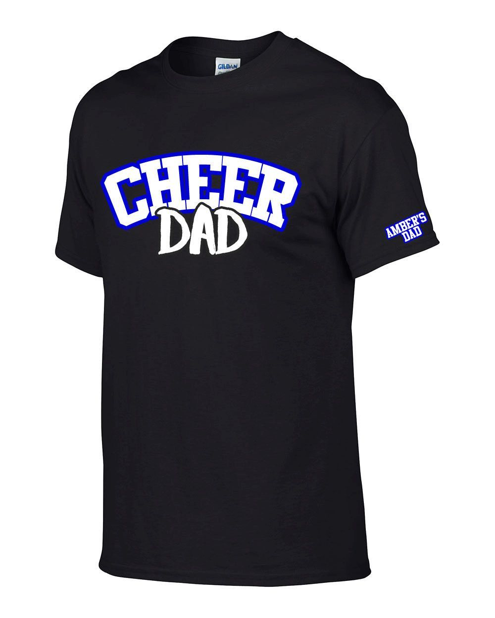 24bb3b975b8 Finally a personalized one ! Cheer Dad T Shirt Custom.Cheerleader Dads.  Cheer Parents.