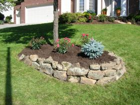 Phoenix Lawns Landscaping Love The Rock Around The Tree