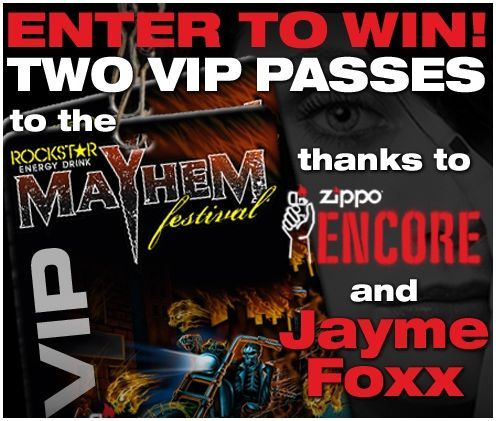 Enter for the chance to win VIP tickets to the Rockstar Energy Mayhem! Type 'Rockstar' into the WomenFreebies search engine.