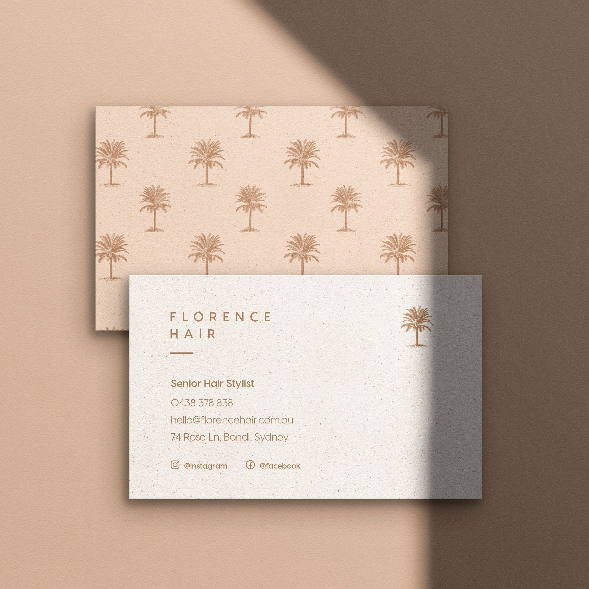 Printable Business Stationery Business Card Template Etsy Stationery Business Card Florist Business Card Business Cards Layout