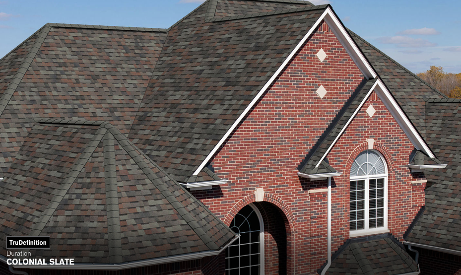 Owens Corning Duration Shingles In Colonial Slate