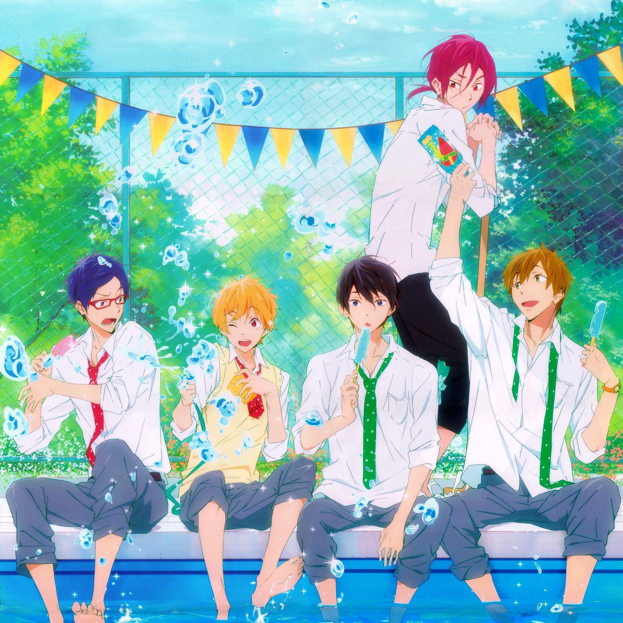 Free Manga Iphone: Free! Anime Wallpaper