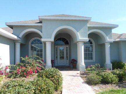 Florida Stucco Home Paint Colors | Best Yellow Paint Color For.