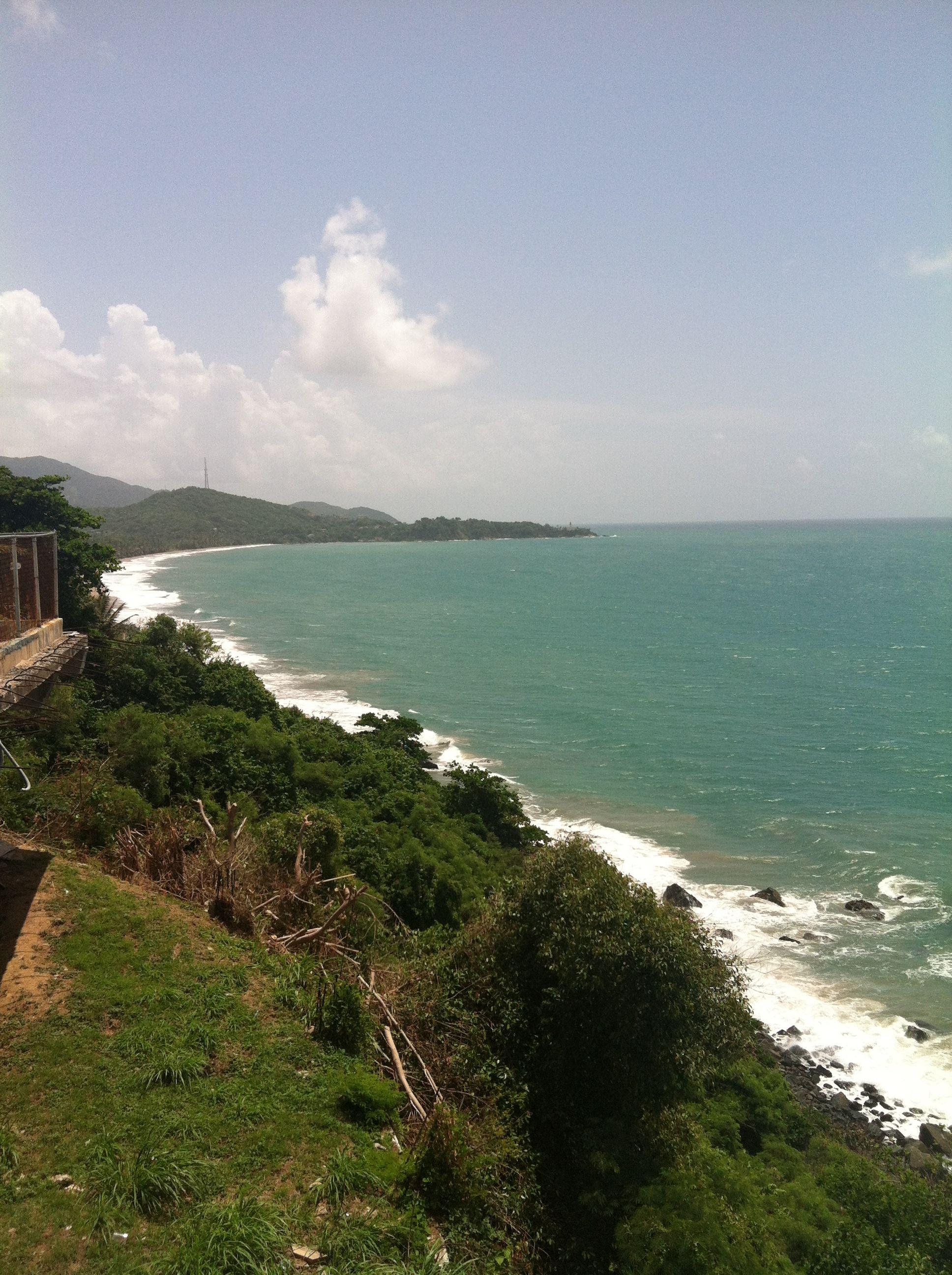Overlook from a Puerto Rican bar Outdoor, Puerto, Puerto