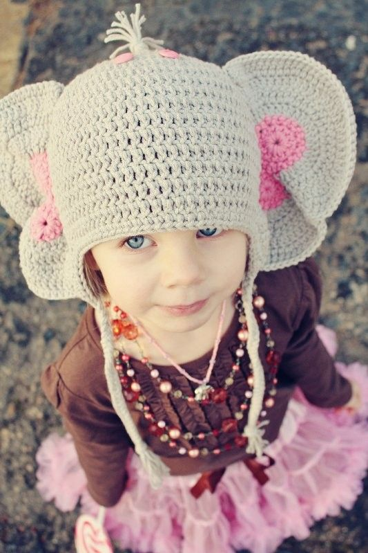 Adorable! | Elephants | Pinterest | Strick, Häkeln und Handarbeiten